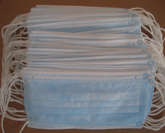 3 Ply Surgical Mask, Blue