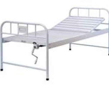 A301  Manual crank two-folded Bed