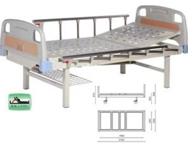 A314-1  Single Crank Two Folded Bed