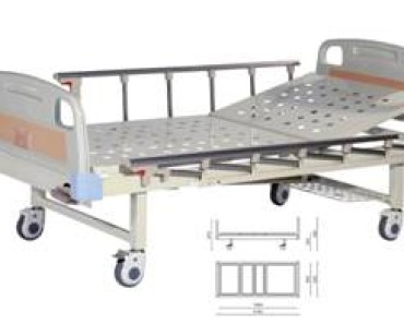 A314-2  Single Crank Two Folded Bed
