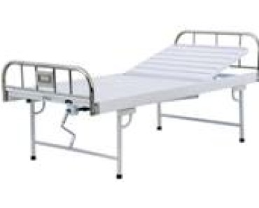 A315 Manual crank two-folded bed