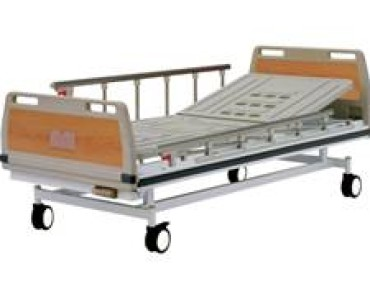 A316 Manual crank two-folded bed