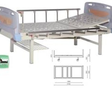 A324-2  Single Crank Two Folded Bed