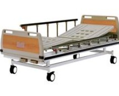 A412 Manual two crank three-folded bed