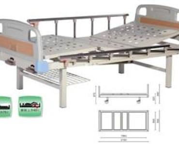 A417-1  Two Crank Three Folded Bed