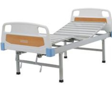 A417 Manual two-crank three-folded bed