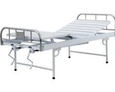 A418 Manual two crank three-folded bed