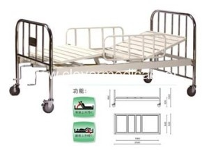 A406-2  Two Crank Three Folded Bed